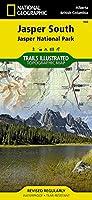 National Geographic Jasper South Jasper National Park Map: Trails Illustrated National Parks (National Geographic Trails Illustrated Map)