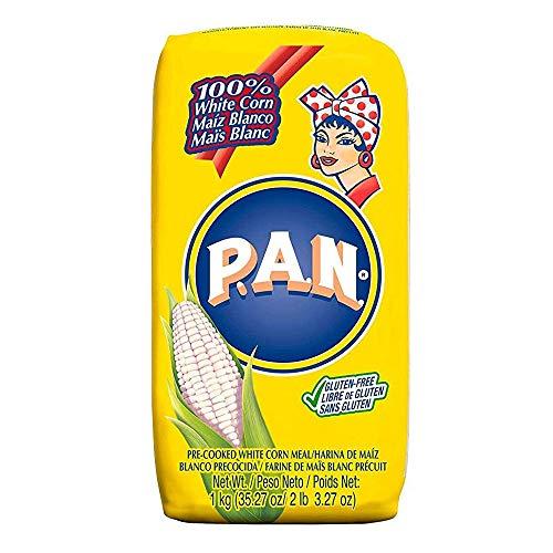 白とうもろこし粉 ホワイトコーンミール P.A.N. 1kg / pre cooked white corn meal