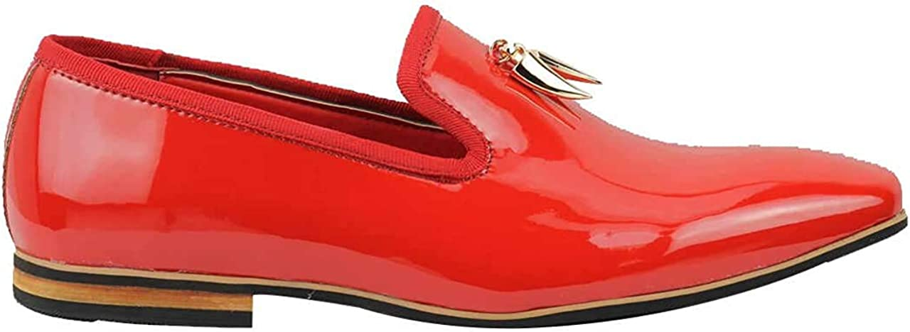 black and gold designer loafers