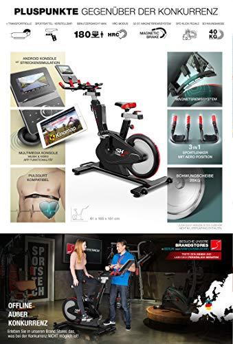 Sportstech SX600 Elite Indoor Cycle Bike Fitness Bild 5*