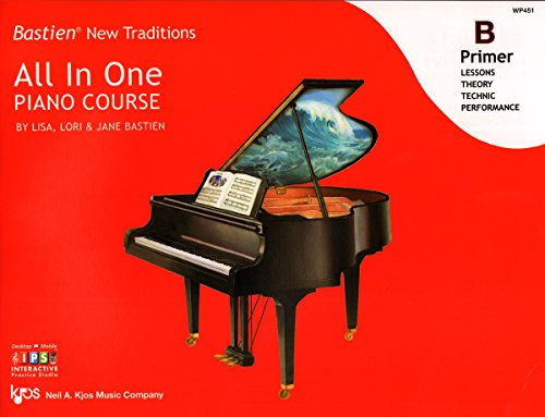 Bastien All in One Piano Course Primer B (Bastien New Traditions)