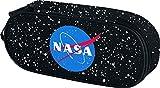 Mäppchen für Junge - Federmäppchen für Schreibwaren - Schulsachen Federtasche, Kinder Schlamppermäppchen, Federmappe für Schule (NASA)