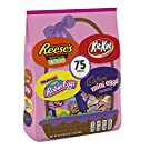 CADBURY, KIT KAT, REESE'S & WHOPPERS Chocolate Candy Variety Pack, 33.4 Oz, Fun Size, 75 Pieces