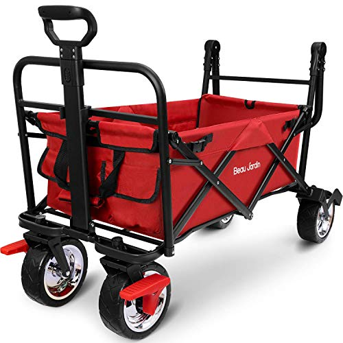 Portable Pliable Camping Wagon Panier Chariot Festival Pliable Plage Voyage