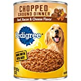 PEDIGREE Chopped Ground Dinner Adult Canned Soft Wet Meaty Dog Food...