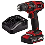 Einhell Taladro destornillador inalámbrico TC-CD 18/35 Li Power X-Change (18V, incluye batería de...