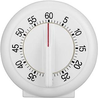 60 minuter rund formtimer Kök Matlagning Mekanisk räknare Väckarklocka Lätt att läsa Högt alarm
