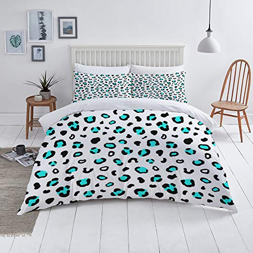 Duvet Cover Set-Bedding,Animal Print Seamless Pattern Leopard Skin Texture,Quilt Cover Bedlinen-Microfibre 200x200cm with 2 Pillowcase 50x80cm