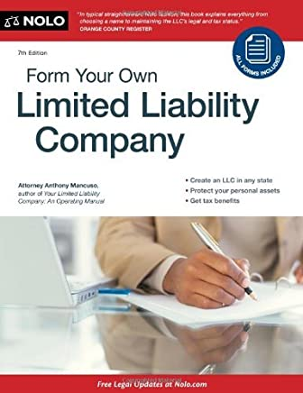 Form Your Own Limited Liability Company by Anthony Mancuso Attorney (2011-10-06)