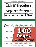 Cahier d'écriture - CP 3-5 ans - Mon Cahier d'écriture - apprendre a écrire - apprendre l'alphabet - Cahier d'écriture Maternelles de Penman Ship