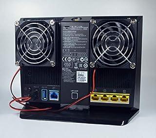 FidgetFidget 冷却ファン5V 超サイレントUSBパワー放熱 RT-AC68U AC68Uルーター用