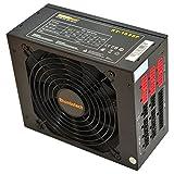 Rhombutech® 1050 WATT ATX PC-Netzteil/Super Gaming-Netzteil/Effizient bis zu 87% / Voll-modulares Kabelmanagement/AKTIV PFC/Super Silent / 140mm kugelgelagerter Lüfter