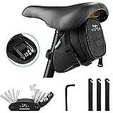 WOTOW Fahrrad Multitool, 16 in 1 Multifunktions Fahrrad Werkzeug Set,mit Satteltasche,mit...