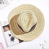 Sombrero De Playa para New Vintage Summer Wide Side Sombrero para El Sol Sombrero De Paja para Hombre Sombrero Fedora Sombrero De Vaquero Sombreros De Paja De ala Grande
