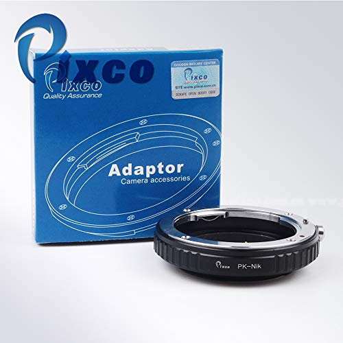 Pixco Lens Adapter voor Macro Pentax PK Lens naar Nikon AI Adapter Nikon Df D5300 D610 D7100 D5200 D600 D3200 D800/D800E D4 D5100 D7000 D3100 D300S D3000 D3X D700