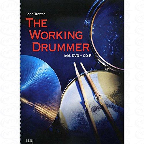 The working drummer - arrangiert für Schlagzeug - mit CD - mit DVD [Noten/Sheetmusic] Komponist : Trotter John