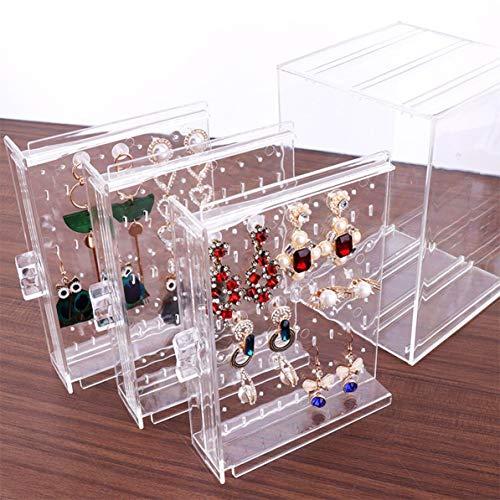 Monllack A11 PS Caja de Almacenamiento de Pendientes Decoración de Moda Regalo...