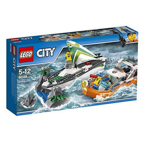 LEGO, City,Salvataggio della Barca a Vela, 60168 (Lingua Italiana Non Garantita)