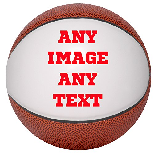 Best Buy! Personalized Basketballs - Custom Photo Basketball Gift - Mini Size Basketball - Any Image...