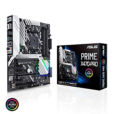 Asus Prime AM4 Zen 3 Ryzen 5000 & 3rd Gen Ryzen ATX Motherboard with PCIe Gen4, Dual M.2 HDMI, SATA 6GB/s USB 3.2 Gen 2 ATX Motherboard