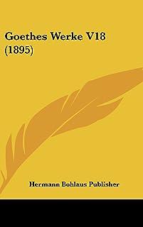 Goethes Werke V18 (1895)