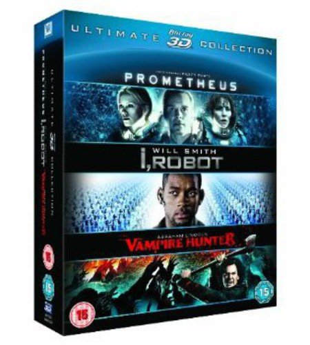 Prometheus/I Robot/Abraham Lincoln 3d [Blu-ray] [Import]