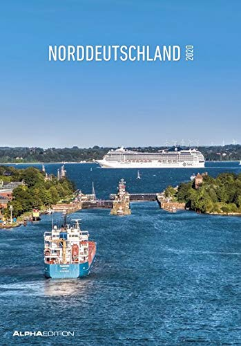 Norddeutschland 2020 - Bildkalender (24 x 34) - Landschaftskalender - Schleswig-Holstein - Hamburg - Niedersachsen - Regionalkalender