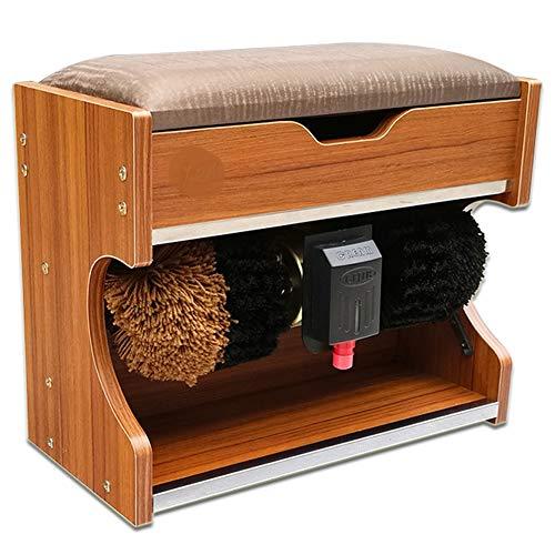 YSHCA Automatischer Schuhpolierer, Poliermaschine As A Change Shoes Hocker Business Schuhputzer für den Heimbereich,C