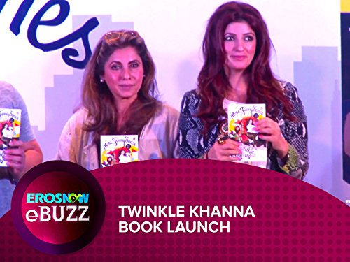 Twinkle Khanna Book Launch