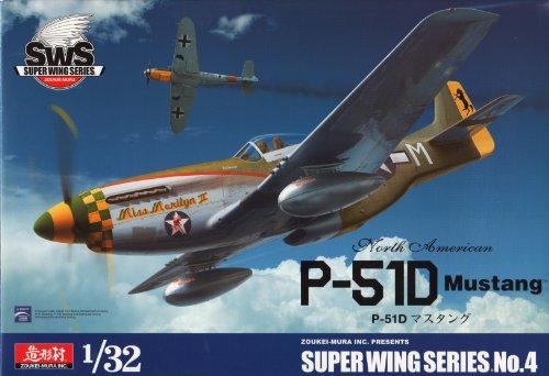 Super Wing Series SWS 04 – Modélisme Jeu de p 51D Mustang