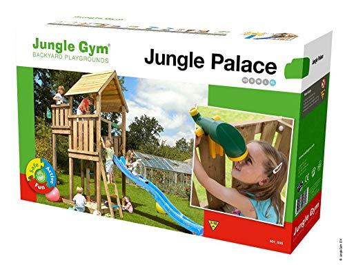 Jungle Gym Spielturm PALACE (ohne Holzpaket/Rutsche)