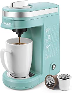 CHULUX Single Serve 12 Ounce Coffee Brewer,One Button Operation with Auto Shut-Off for..
