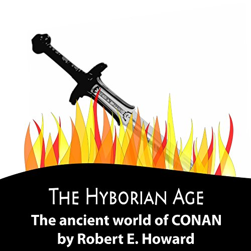 The Hyborian Age audiobook cover art