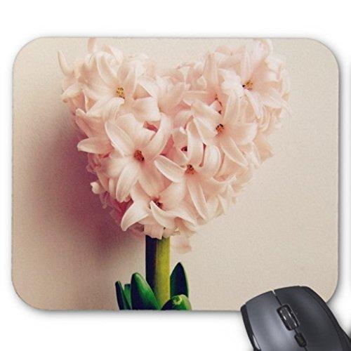 Goobull A forma di cuore, fiore dell' amore rettangolo gomma antiscivolo mouse computer Gaming Mouse pad mouse Mats
