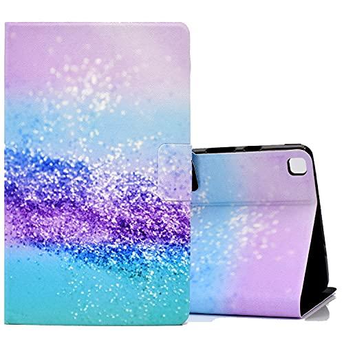 ONETHEFULCarcasaLibroFundaTabletSamsung Galaxy Tab A 8.0' 2019 T290 T295CoverFundasProtectorconPU CueroySoporte- Arena de Color