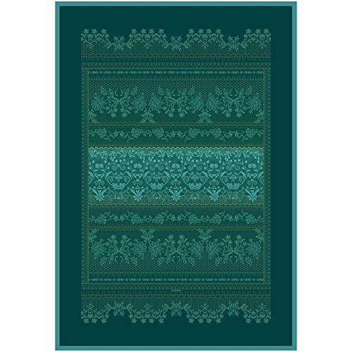Bassetti Fermo Plaid, Baumwolle, grün, 135X190