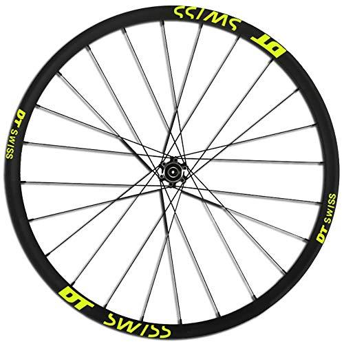 DACCU Felgenaufkleber für Mountainbike/Fahrrad, 2 Räder, für MTB/Dh Vinyl, Ersatz Einheitsgröße 29er Fluo Orange