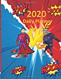 2020 Daily Planner: Great online gift for that someone special: 8.5x11 12 MONTHS CALENDAR, SPACE FOR DAILY NOTES, TO DO LIST AND EVERYTHING ELSE. ... MAKE YOUR LIFE EAISER (2020 Planner Comics)