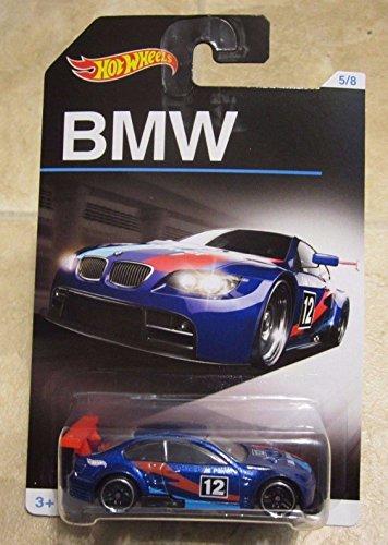 2016 Hot Wheels BMW Series #5 BMW M3 GT2 BLUE RARE HOT WHEELS 5/8