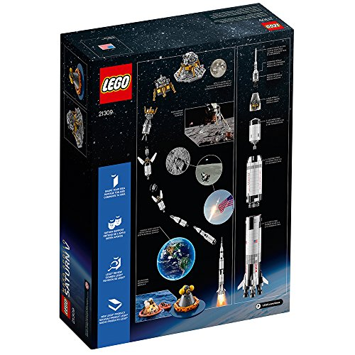 Fusée Saturn V Mission Programme Apollo LEGO NASA 21309 - 1969 Pièces - 6