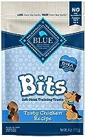 Blue Buffalo Chicken Bits Dog Treats, 4-Ounce by Blue Buffalo