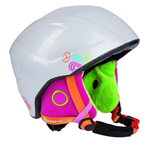 Tecno Pro INTERSPORT Duitsland eG 108009 - skihelm XT IS2 910 wit/MULTI XS