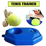 WA Allenatore di Tennis, Tennis Ball Training Base Portatile per Esercizi per La Schiena e Allenamento Auto Tennis Tennis Trainer Palla di Rimbalzo
