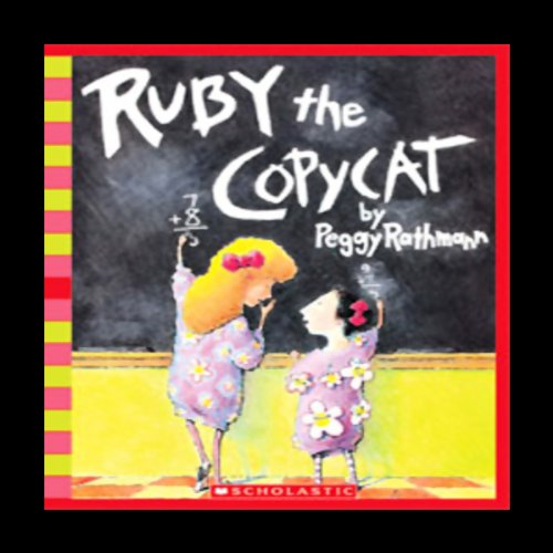 Ruby the Copycat audiobook cover art