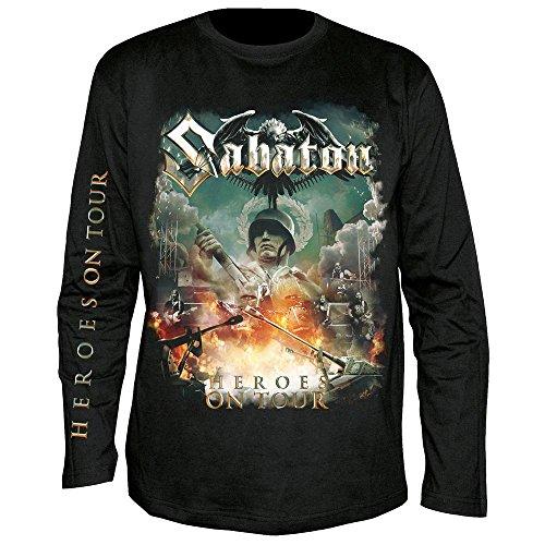 Sabaton - Heroes on Tour - Langarm - Shirt/Longsleeve Größe M