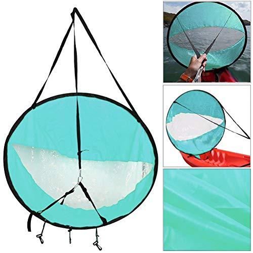 Guajave Kajak Boot Wind Segel Kanu Sup Paddel Board Segel mit Transparent Fenster Fischen Ruderboot Aufblasbar Außenbord Driften - Blau