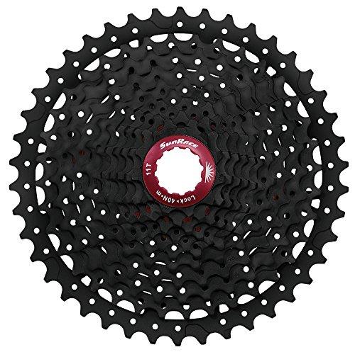 Deportes al Aire Libre Gris Sunrace CSRS1 Cassette Talla /Única Ciclismo,componentes de Bicicleta