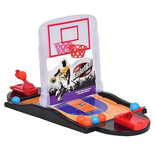 WDDH Basketball Shooting Game,2-Player Tabletop Arcade Game Basketball Games Set Best Interactive Desktop Game for Kids and Adults