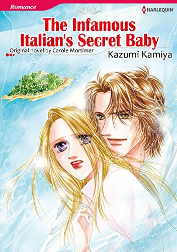 The Infamous Italian's Secret Baby: Harlequin comics (English Edition)