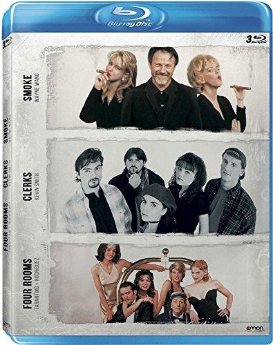 Pack: Wang + Smith + Tarantino/Rodríguez (Smoke + Clerks + Four Rooms) [Blu-ray]